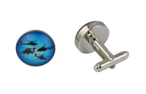 Military Helicopters Cufflinks