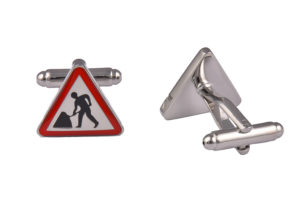 Roadworks Cufflinks