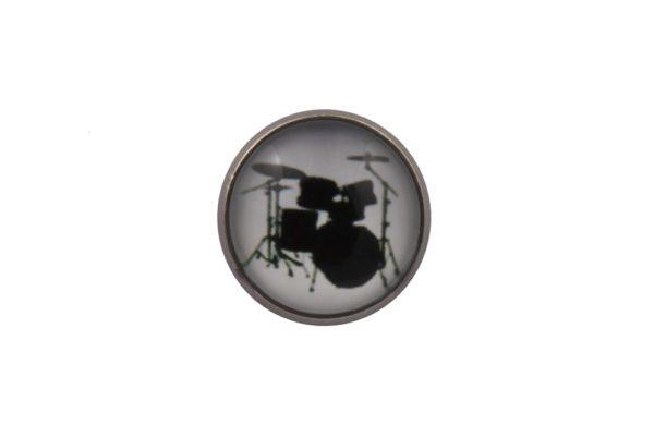 Drums Lapel Pin Badge