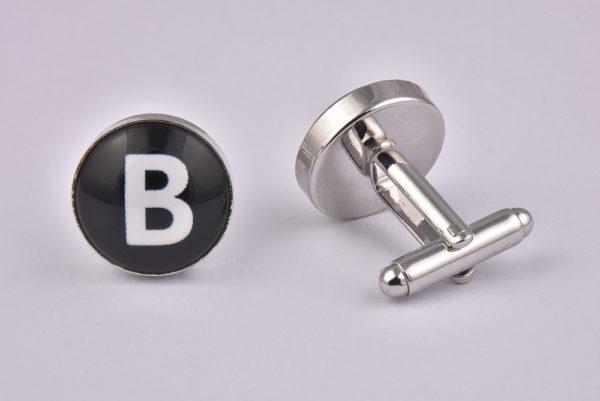 Letter B Cufflinks