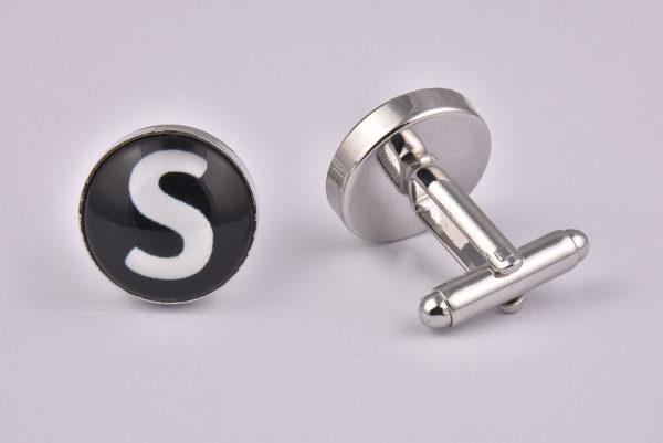 Letter S Cufflinks