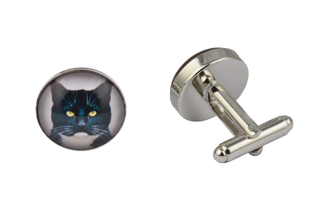 Cat Face Cufflinks