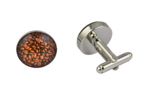 Coffee Beans Cufflinks