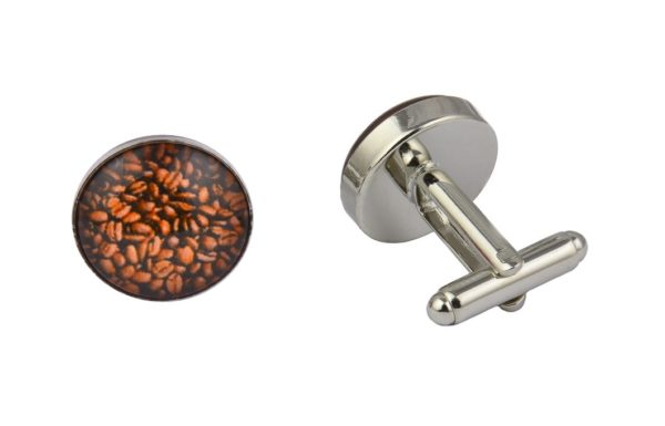 Coffee Beans Cufflinks