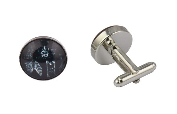 Human Skeleton Cufflinks