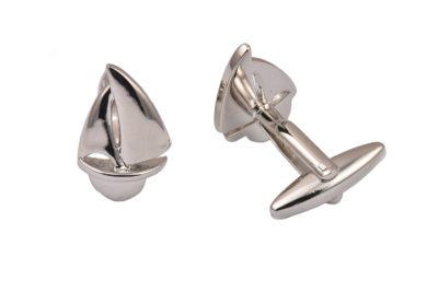 Yacht Silver Cufflinks