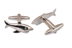 Metal Shark Cufflinks