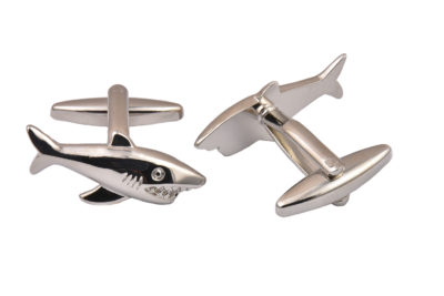 Metal Shark Cufflinks