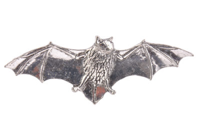 Bat Pewter Lapel Pin Badge