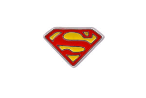 Superman Logo Lapel Pin Badge
