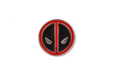 Deadpool Logo Lapel Pin Badge