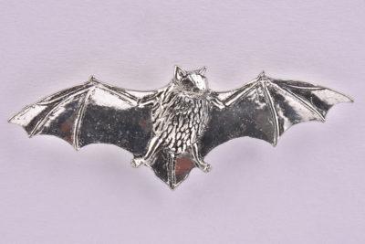 Bat Pewter Lapel Pin Badge