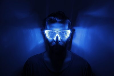Cyber Visor LED Glasses