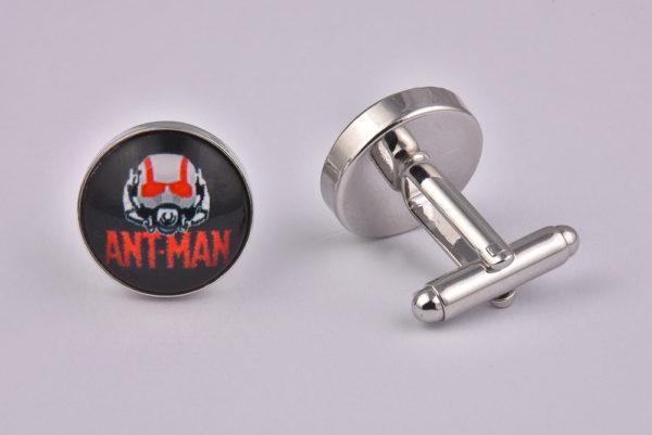 Superhero Ant Man Logo Cufflinks