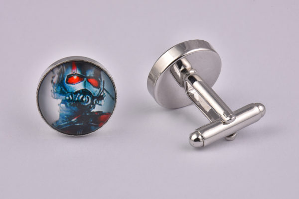 Superhero Retro Ant Man Cufflinks
