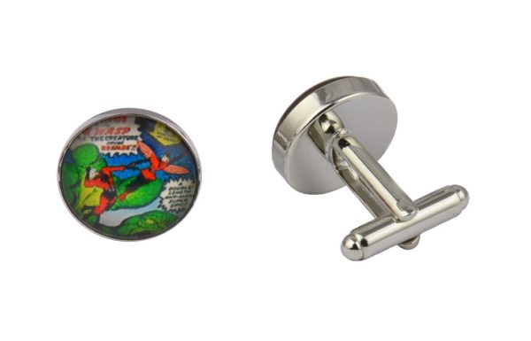 Comic Book Superhero Ant Man Cufflinks