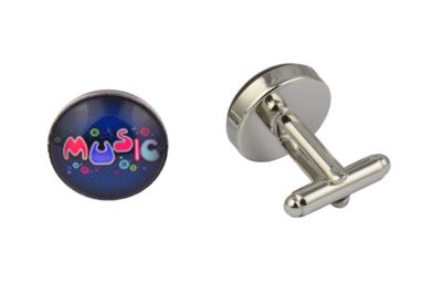 Colourful Music Cufflinks