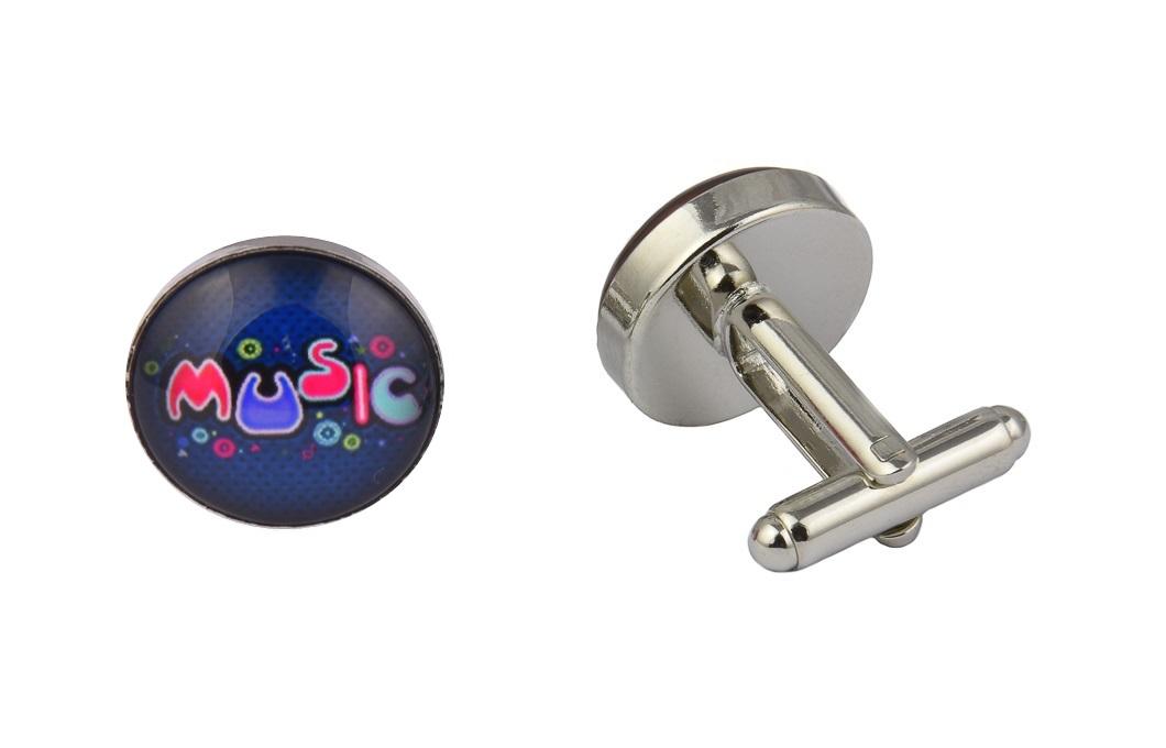 Colourful Music Cufflinks