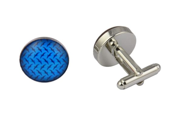 Blue Dinosaurs Cufflinks