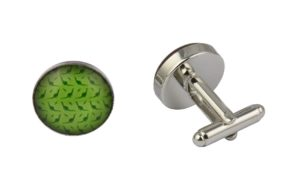 Green Dinosaurs Cufflinks