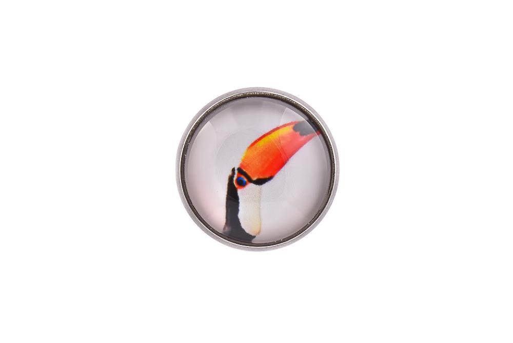 Toucan Bird Lapel Pin Badge