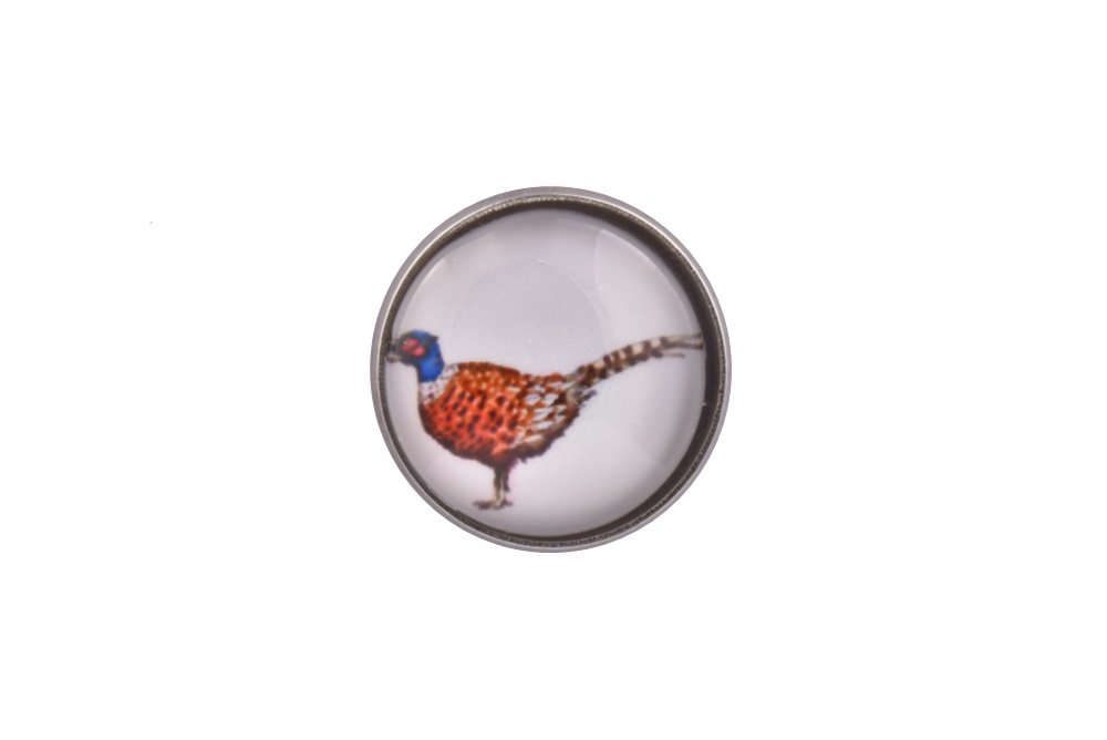 Pheasant Bird Lapel Pin Badge