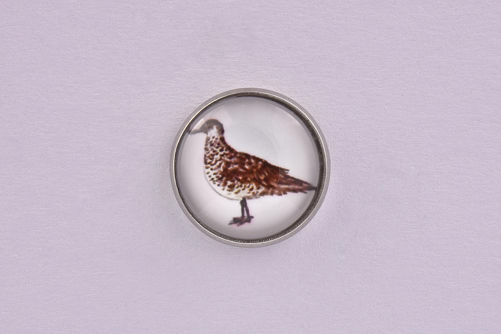 Seagull Bird Lapel Pin Badge