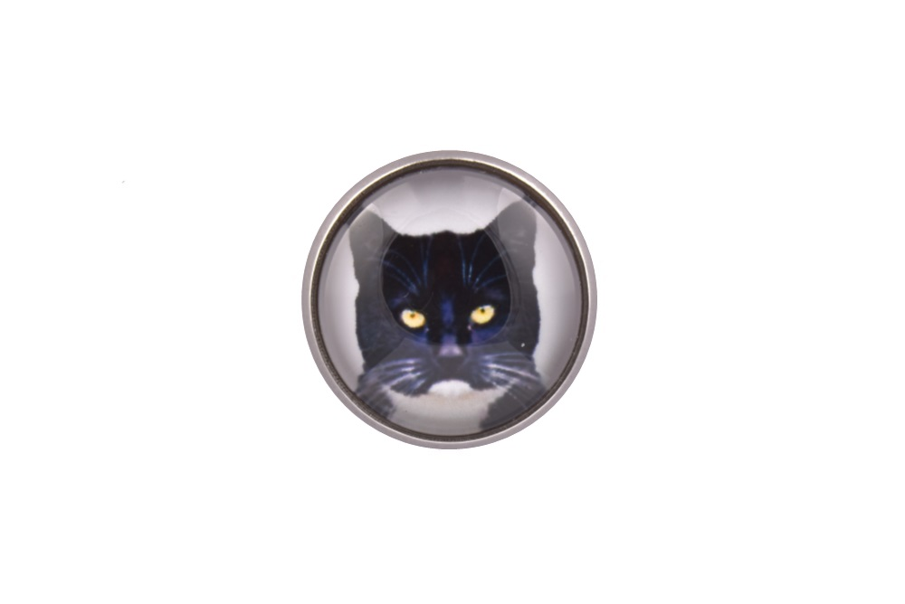 Cat Lapel Pin Badge