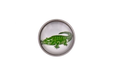Crocodile Lapel Pin Badge