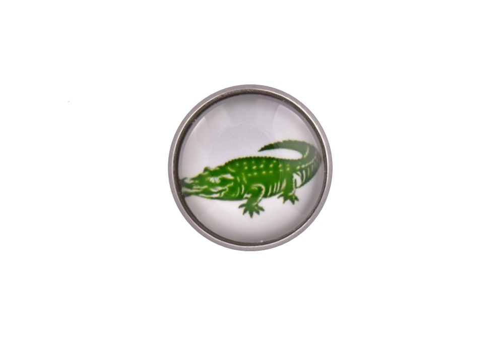 Crocodile Lapel Pin Badge
