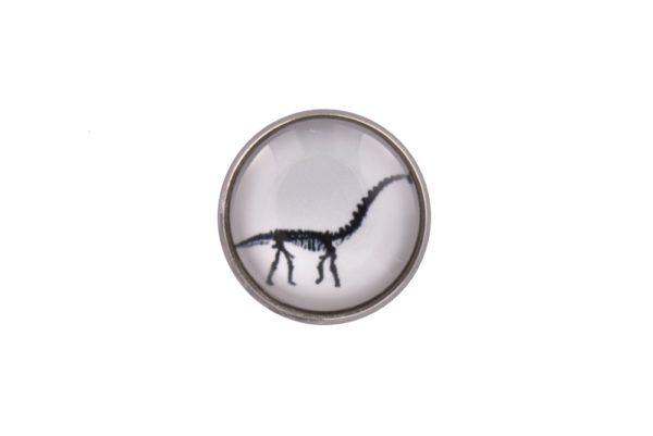 Brachiosaurus Dinosaur Lapel Pin Badge