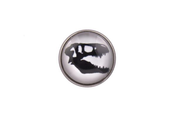Dinosaur Skull Lapel PIn Badge