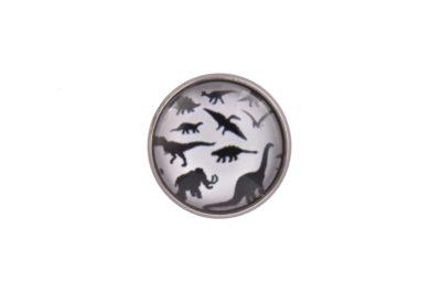Dinosaur Art Lapel Pin Badge