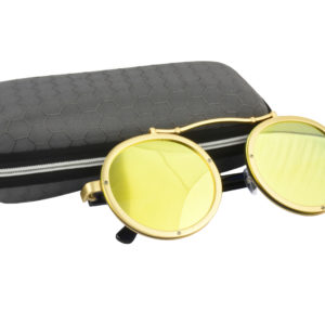Cool Gold Steampunk Sunglasses