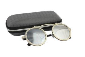 Cool Silver Steampunk Sunglasses
