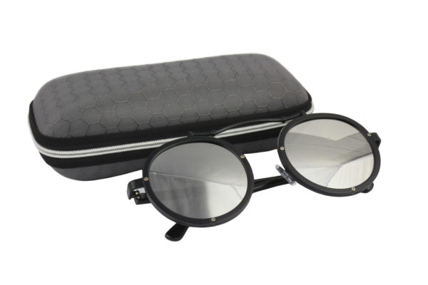 Cool Black Silver Steampunk Sunglasses