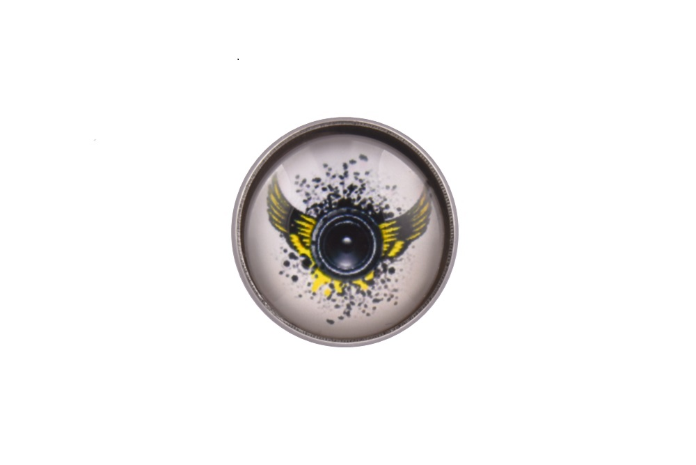 Amplifier Wings Lapel Pin Badge