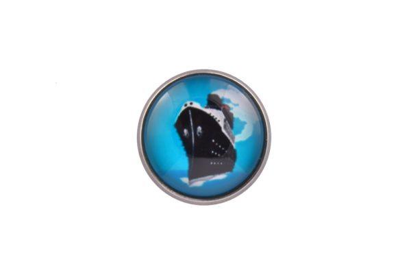 Cruise Liner Lapel Pin Badge