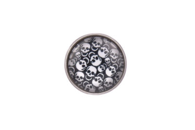 Skulls Lapel Pin Badge