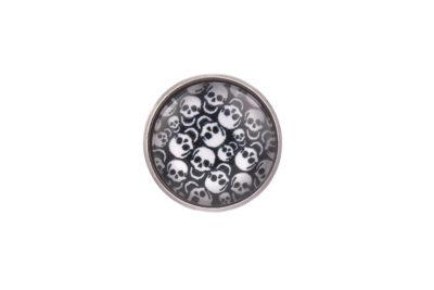 Skulls Lapel Pin Badge
