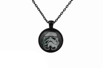 Star Wars White Storm Trooper Necklace