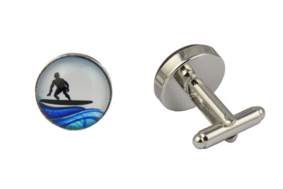 Wave Surfer Cufflinks