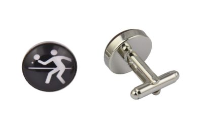 Table Tennis Cufflinks