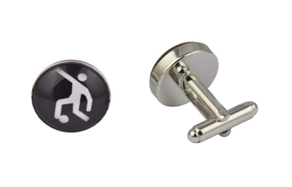 Football Player Cufflinks