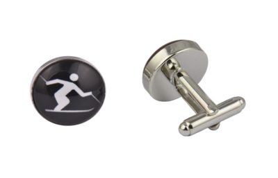 Skiing Cufflinks