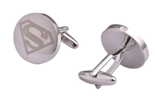 Silver Superman Cufflinks