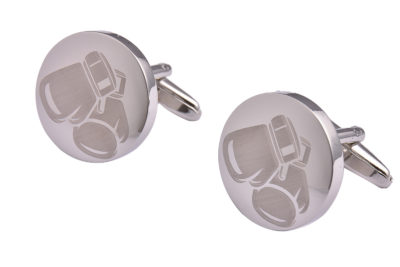 Silver Boxing Gloves Cufflinks