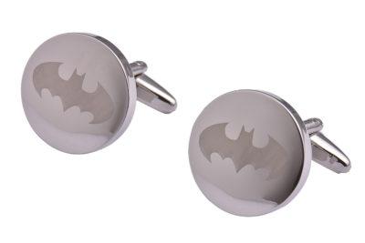 Silver Batman Cufflinks