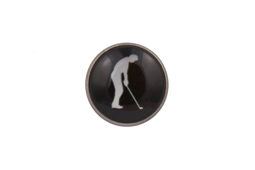 Golf Putt Lapel Pin Badge