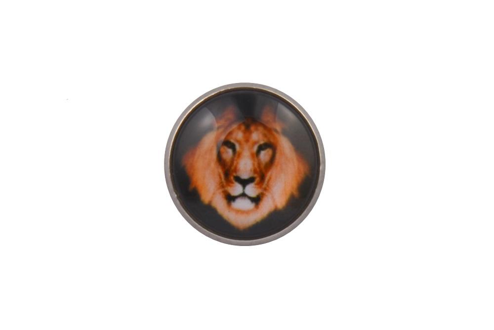 Lion Lapel Pin Badge